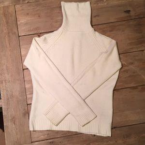 Sutton Studio cashmere turtleneck sweater, large